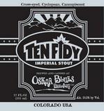 Oskar Blues Ten Fidy 2013 Beer