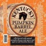 Lexington Pumpkin Barrel Ale beer