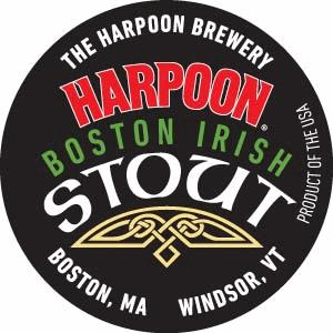 Harpoon Boston Irish Stout beer Label Full Size
