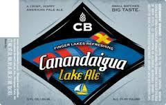 Custom Brewcrafters Canandaigua Lake Ale beer Label Full Size