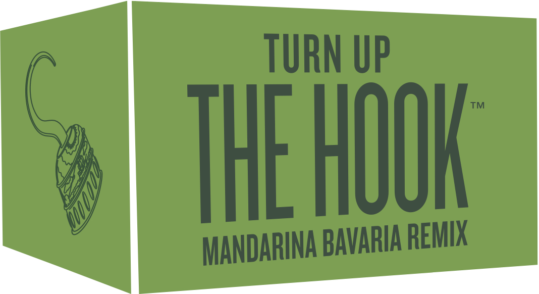 Carton Turn Up The Hook Mandarina Bavaria Remix beer Label Full Size