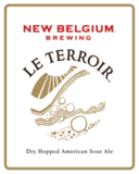New Belgium Le Terroir Dry Hopped American Sour beer