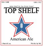 Top Shelf American Ale beer