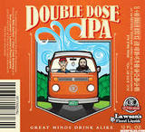 Otter Creek/Lawson's Double Dose IPA Beer