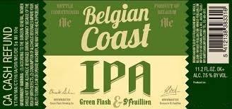 St. Feuillien/Green Flash Belgian Coast IPA Beer
