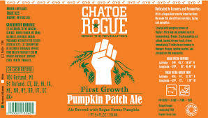 Rogue Farms Pumpkin Patch Ale beer Label Full Size