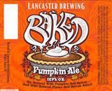 Lancaster Baked Pumpkin Ale Beer