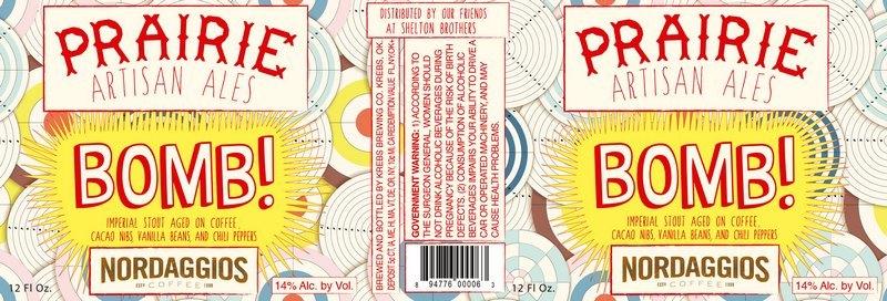 Prairie Artisan Bomb! beer Label Full Size