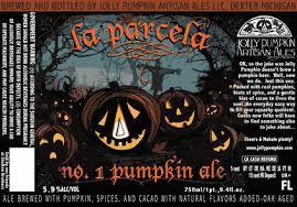 Jolly Pumpkin La Parcela No. 1 Pumpkin beer Label Full Size