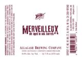 Allagash Merveilleux Beer