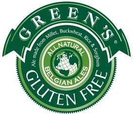 Green's Dry Hopped Lager beer Label Full Size