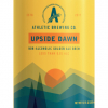 Athletic Brewing Upside Dawn Golden Ale beer Label Full Size