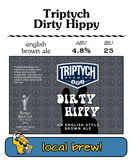 Triptych Dirty Hippy Beer