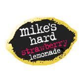 Mike's Hard Strawberry Lemonade beer Label Full Size