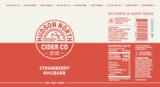 Hudson North Strawberry Rhubarb beer