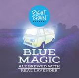Right Brain Blue Magic Beer