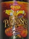 Northwest Jack Pumpkin Spiced Ale beer Label Full Size