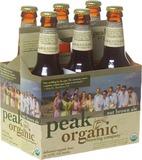Peak Organic Nut Brown beer