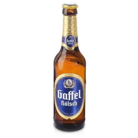 Gaffel Kolsch beer Label Full Size