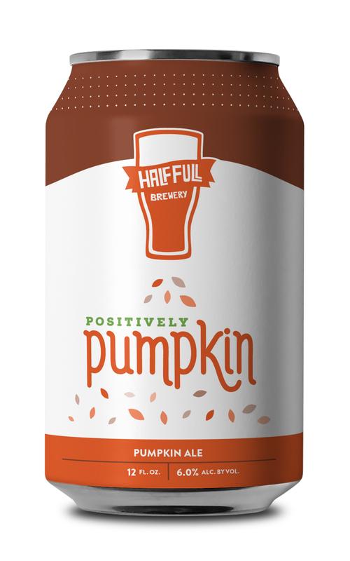 Half Full Pumpkin Ale beer Label Full Size