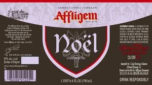 Affligem Noel Ale beer Label Full Size