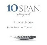10 Span Pinot Noir wine