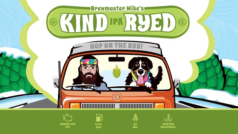 Otter Creek Kind Ryed IPA beer Label Full Size