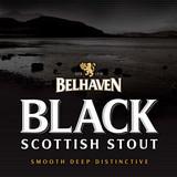 Belhaven Black Scottish Stout Nitro beer Label Full Size