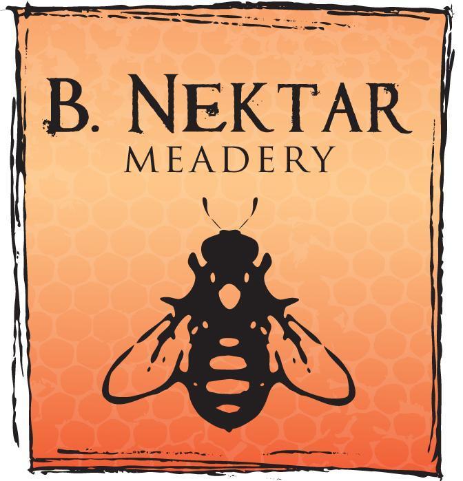 B. Nektar Raspberry Ginger beer Label Full Size