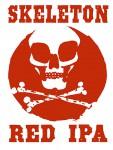 Four String Skeleton Red IPA beer Label Full Size