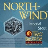 Two Brothers Northwind Imperial Stout Infused with Coffee beer