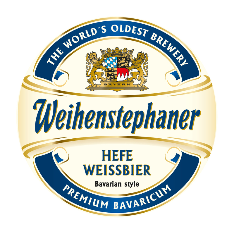 Weihenstephaner Hefeweissbier beer Label Full Size