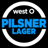 West O Pilsner Lager beer