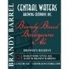Central Waters Brandy Barrel Barleywine beer