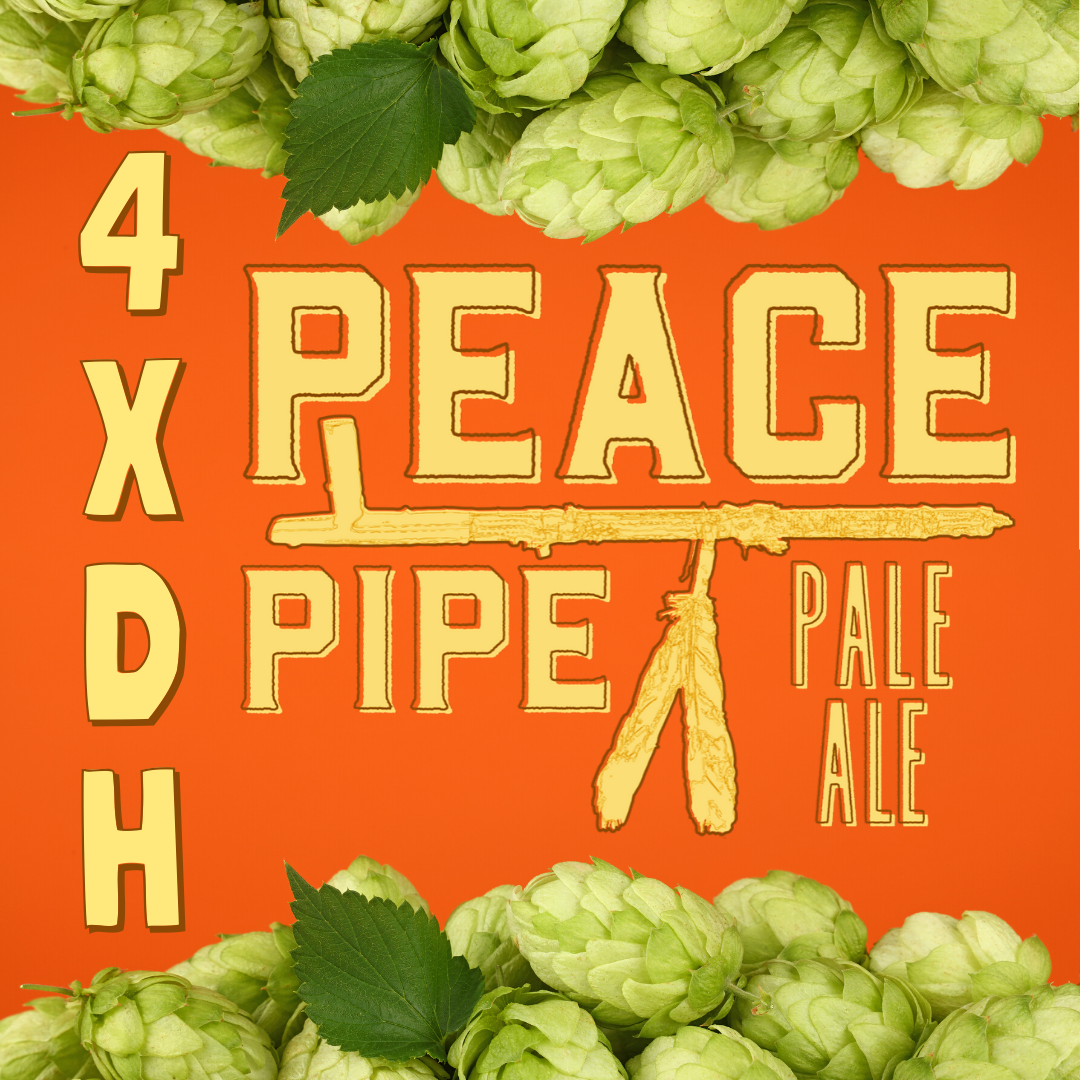 Chafunkta 4XDH Peace Pipe Pale Ale beer Label Full Size