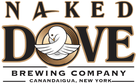 Naked Dove Hopulus Localus beer Label Full Size