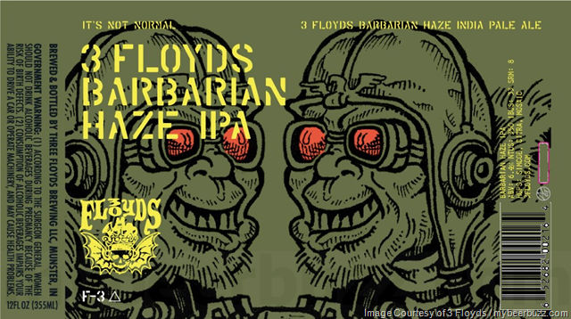 Three Floyds Barbarian Haze - Where to Buy Near Me - BeerMenus
