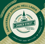 Church Street Anniversary Special Hell beer