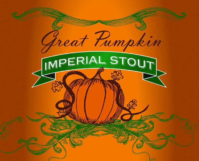 Millstream Great Pumpkin Imperial Stout beer Label Full Size