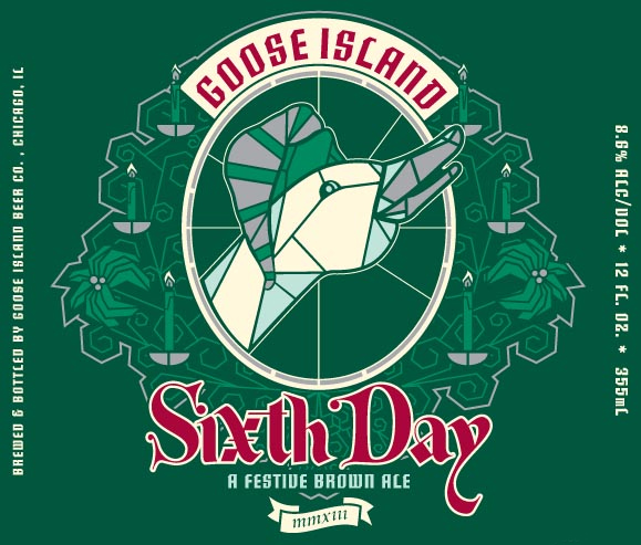 Goose Island Sixth Day beer Label Full Size