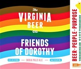 Virginia Beer Co. Friends Of Dorothy Pride IPA beer