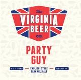 Virginia Beer Co. Party Guy beer