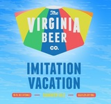 Virginia Beer Co. Imitation Vacation beer