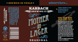 Karbach Mother in Lager Beer