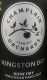Champlain Orchards Kingston Dry beer