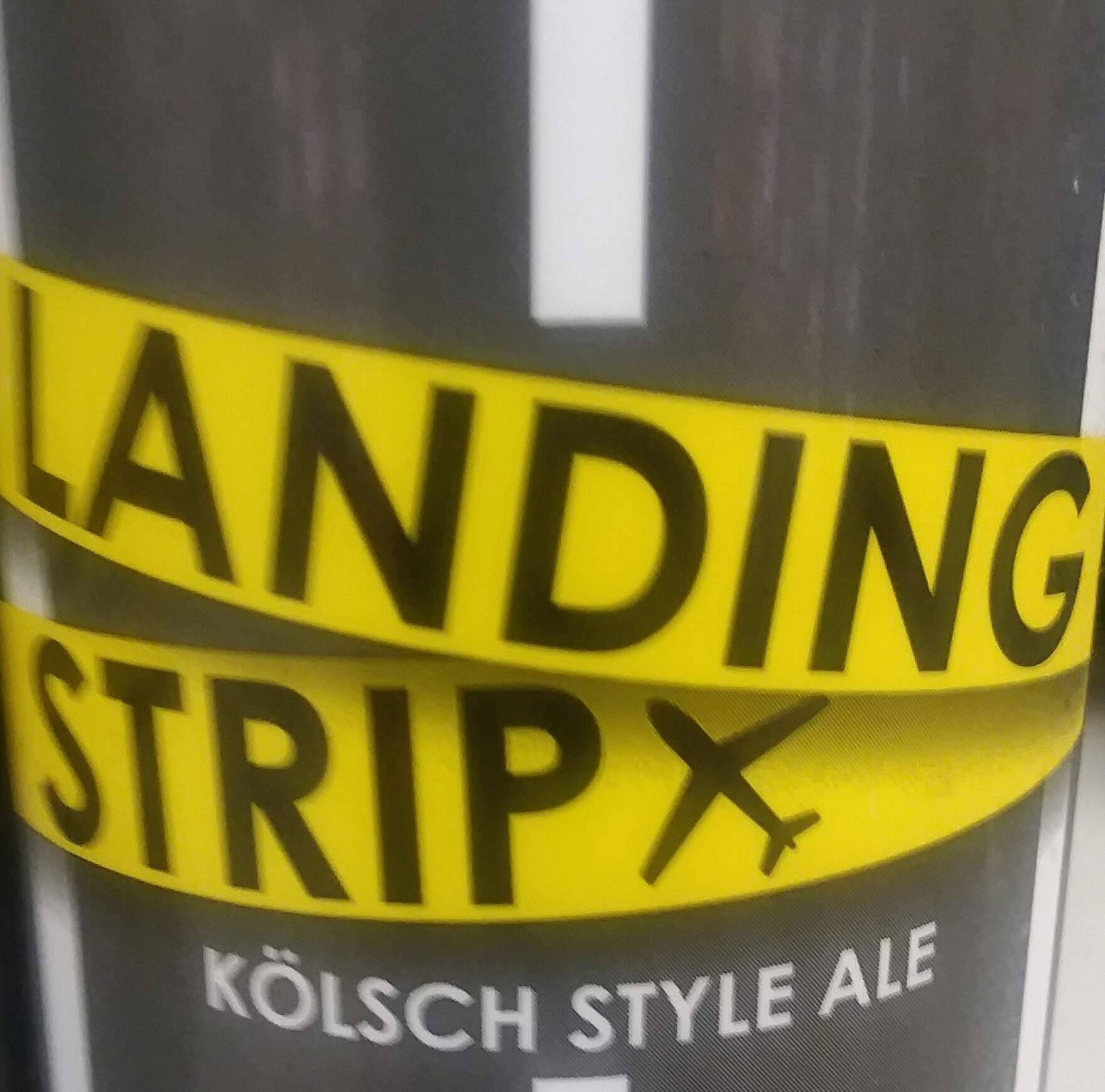 Cross Keys Landing Strip beer Label Full Size