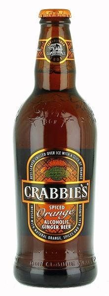 Crabbie's Spiced Orange beer Label Full Size