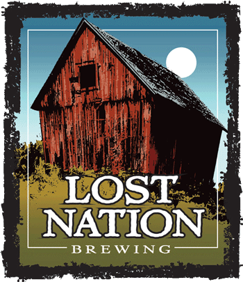 Lost Nation Gose beer Label Full Size
