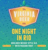 Virginia Beer Co. One Night In Rio beer