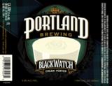 Portland Blackwatch Cream Porter beer